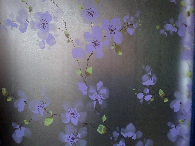 motif bunga bunga - Sticker Artistik